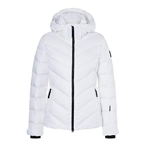 Bogner Fire + Ice Ladies Sassy2-D Weiß, Damen Daunen Freizeitjacke, Größe 42 - Farbe Offwhite