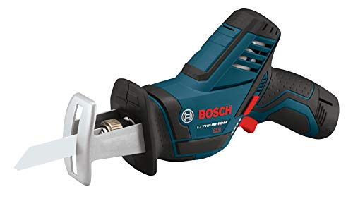 BOSCH 12-Volt Max Pocket Reciprocating Saw Kit PS60-102, Blue