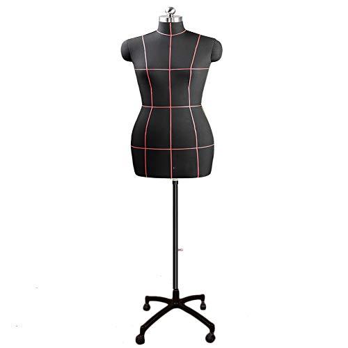 clasificación y comparación ZAQI Mannequin Tailor Sewing Busto Maniquí de costura femenino grande, maniquí de cuerpo … para casa
