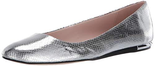 Calvin Klein Damen Ballerinas, Silber (Silber), 37 EU