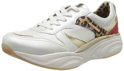 Dockers by Gerli Women's Low-Top Sneakers, White Weiss Multi 509, 9.5