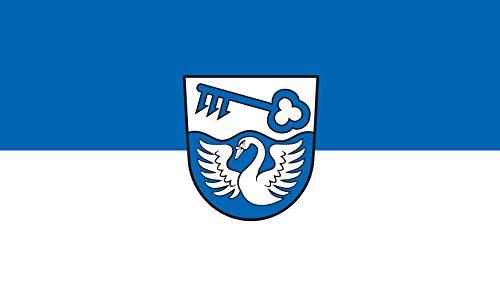 Unbekannt magFlags Tisch-Fahne/Tisch-Flagge: Sauldorf 15x25cm inkl. Tisch-Ständer