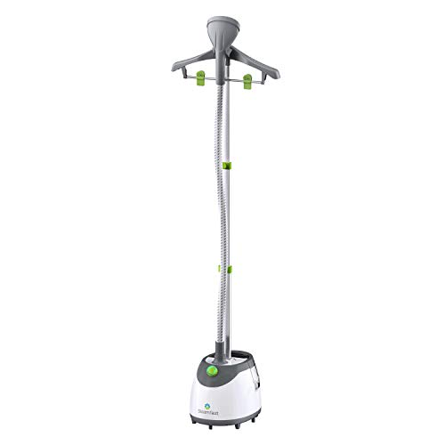 Steamfast SF-562 Canister Garment Steamer with Clothes Hanger and...