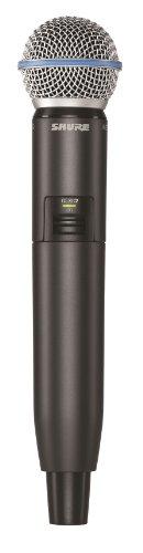 シュアー SHURE GLXD2/BETA58 ハンドヘルド型送信機 ワイヤレスマイク