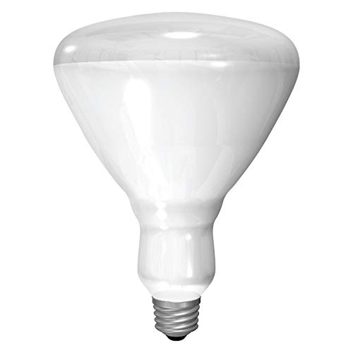 GE Incandescent Plant Light Bulb, BR30 Indoor Plant Light, 65-Watt, 730 Lumen, Medium...