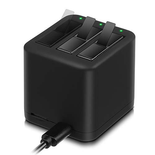 Batería ENEGON (Paquete de 2) y estación de Carga rápida de 3 Canales USB para el Cargador Insta360 One X PL903135VT-S01