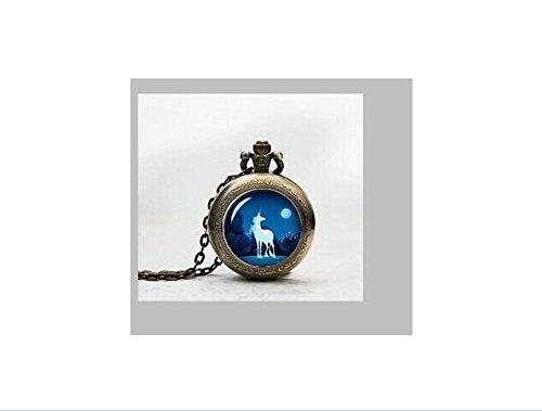 Einhorn Anhänger Taschenuhr, Einhorn Halskette Taschenuhr Charme, das letzte Einhorn inspirierendes Zitat Always Be A Unicorn Anhänger Taschenuhr Glass Tile Schmuck, Glas Einhorn Uhr, Einhorn potphoto