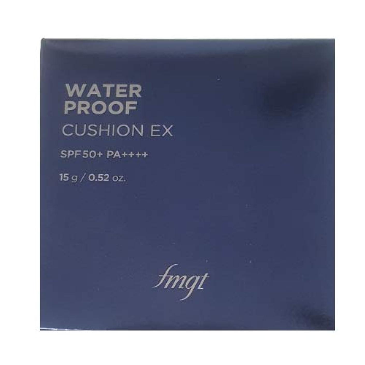 相続人トレッドミスペンド[ザ?フェイスショップ] THE FACE SHOP [ウォータープルーフ クッション SPF50+ PA+++15g] (Waterproof Cushion SPF50+ PA+++ 15g) [海外直送品] ( V203 Natural Beige)
