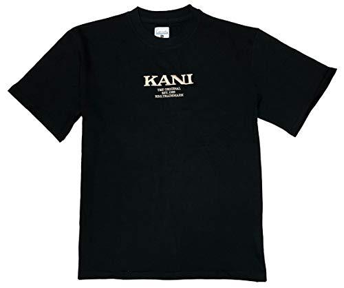 Karl Kani - Camiseta 6030265 Retro tee Black - 6030265BLACK - Black,...