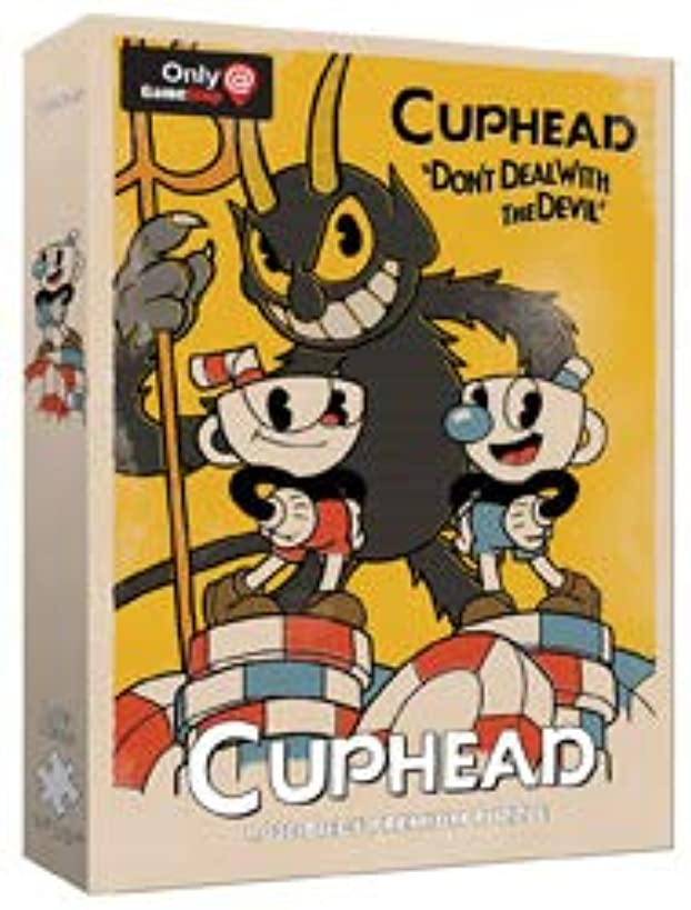 Cuphead Don't Deal with The Devil 1000 Piece Puzzle Exclusive