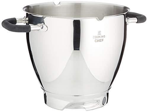 Kenwood KAT911SS Rührschüssel, 6,7 Liter Edelstahl-Schüssel COOKING CHEF SS BOWL, Küchenmaschinen Zubehör