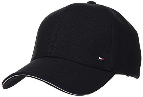 Tommy Hilfiger Elevated Corporate Cap Chapeau, Noir, Taille Unique Homme