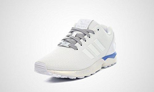 (アディダス) adidas ZX FLUX ホワイト、ブルー B34484 (27.5cm) [並行輸入品]