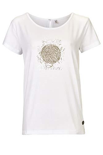 G.I.G.A DX Mikela T-Shirt décontracté Femme, Blanc, FR : L (Taille Fabricant : 42)
