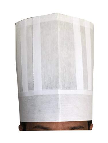 european white chef hat - 2