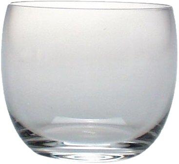 Alessi Sg52/40 Mami Gobelet à Whisky en Verre Cristallin, Set de 6 Pièces