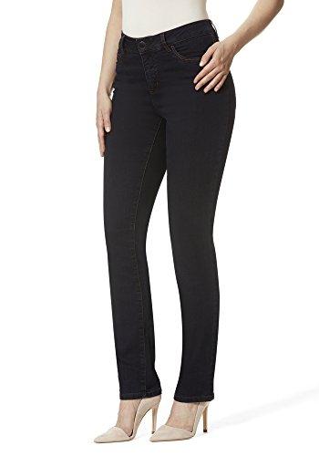Stooker Milano Damen Stretch Jeans Hose Magic Shape Effekt - Dark Blue (50/30)