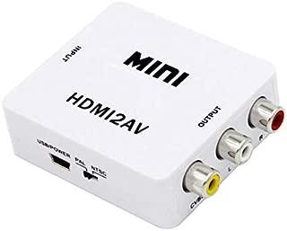 Terabyte Mini HDMI 2AV UP Scaler 1080P HD Video Converter (White
