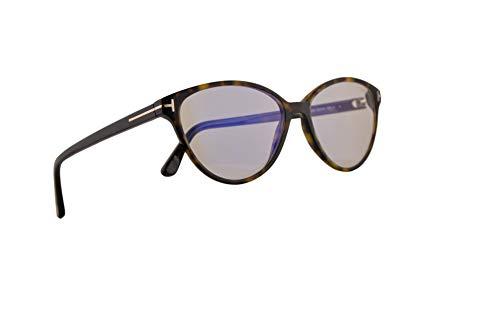 Tom Ford FT5545B Brillen 53-14-140 Braun Havana Mit Demonstrationsgläsern 052 FT5545-B FT 5545B TF 5545-B TF5545B TF5545-B