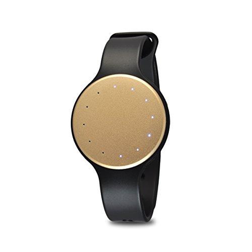Pyle Bluetooth Smart Activity Fitness Tracker - Waterproof Sport Multifunction Fit Sports Running Wrist Watch Gear w/Sleep Monitor, Pedometer, Best Fitness Tracker for Women/Men PSB1GL.5 (Gold)
