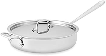 All-Clad Tri-Ply Bonded 3-Quart Saute Pan with Lid (Second Quality)