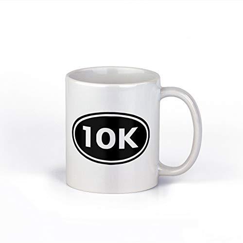 Taza de café de cerámica de 10 K, taza de café de 10 quilates, taza de café de 12 onzas | NI831-840