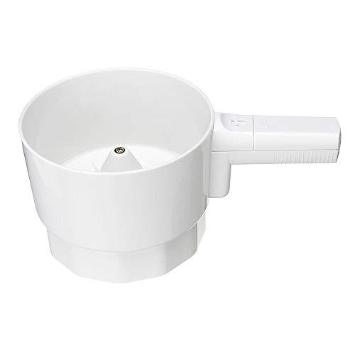 Elektrisches Mehlsieb Handmehlsieb Mehlsieb Kunststoff Cup Form Pulver Shaker Küche Kochen Backen Gebäck Werkzeuge