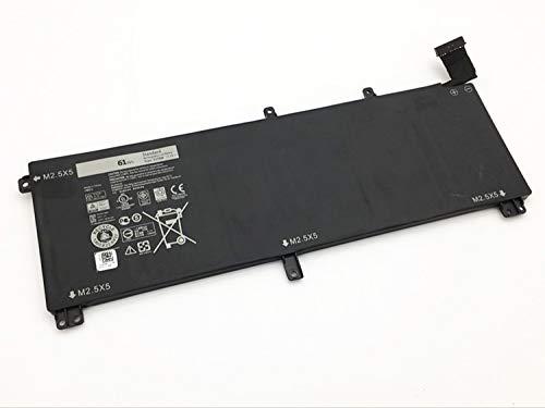 GreatCell 11.1V 61Wh T0TRM Ersatz Laptop Akku Batterie kompatibel mit Dell XPS 15 9530 Precision M3800 Series TOTRM H76MV 7D1WJ 245RR
