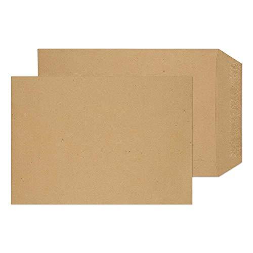 Purely Everyday - Sobres tamaño C5 (229 x 162mm, autoadhesivo, 500 unidades), color marrón