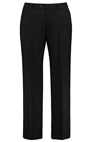 JP 1880 Herren große Größen Anzug Baukasten-Hose Zeus mit FLEXNAMIK®-Ausstattung, Autofahrerhose, pflegeleicht schwarz 54 705516 10-54