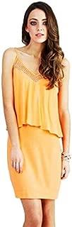 Wish - Surrender Dress (55678.783 - Soft Orange Size XXS/6)