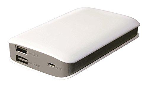 iconBIT FTB6600PB - Powerbank 6.600mAh - 2x USB - Ideal für Smartphone, Tablet usw.