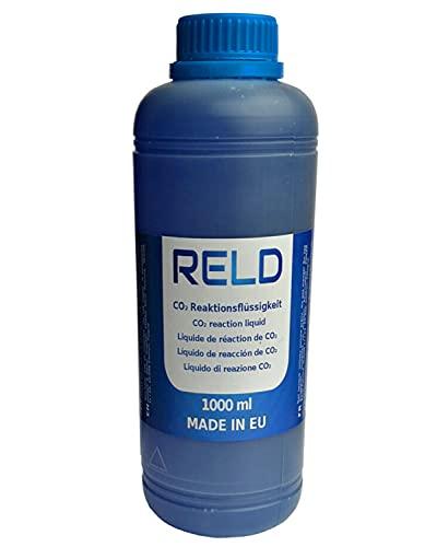 RELD CO2 Reaktionsflüssigkeit Zylinderkopf Dichtung Tester CO2 Leck Kühlwasser prüfen CO2-Lecktester Rapid Engine Leak Detector 1000ml 1L