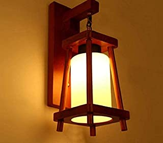 DECORVAIZ Decorative Home Décor Light Wall Lamp To Increase the Looks Of Your Home - Natural Wood
