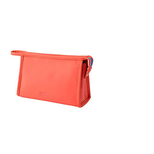 Sac cosmétique étanche Mode Femmes Voyage Lavage Stockage Multifonction Maquillage Sacs-Rouge_24 * 8 * 14 cm