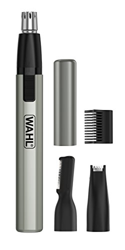 Wahl Micro Finisher Nose Hair Trimmer for Men and Women 3-in-1 Nose Trimmer...