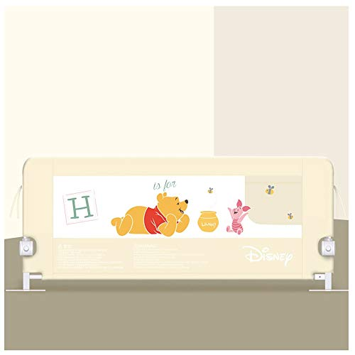 Bed Rail Bed Guard Bed Guardrail Kids Bed Rail Foldable Toddler Rail Guard Safety Bed Guardrail Swing Down Barrier Rails Guard For Baby Child (Size : 150cm)