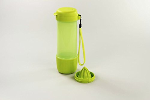 TUPPERWARE To Go infuse Trinkflasche 700ml limette Zitronenpresse Flasche Eco