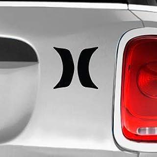 Hurley H Lines SK8/Surf/Snow/Water/Bike/Brands Automotive Decal/Bumper Sticker