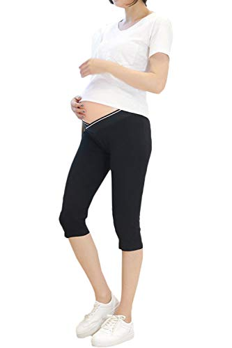 Adelina Dameslegging met stretch-coating, voor dames, soft tailleband, effen kleuren, stretch, modieus, vrijetijdsbroek