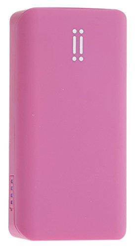 Aiino Power Bank Batterie Portable Externe de Secours pour Recharge téléphone Portable, Smartphone, iPhone, Pokemon Go, 5200mAh, Rose