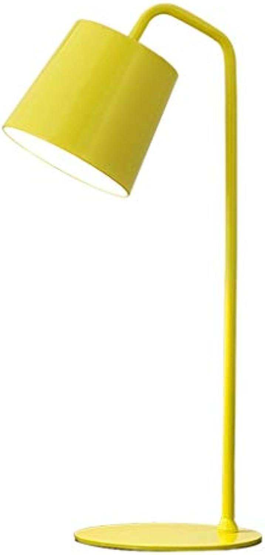 ●  Einfache Art und Weise Schlafsaal Schlafzimmer Nachttischlampe Einfache Persnlichkeit Augenpflege Schreibtisch Student Kinder Lesen Lesen Schreibtischlampe E14 Lampe Kopf Farbe Optional (Farbe  G