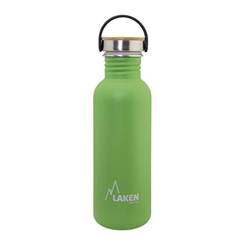 Laken Unisex– Erwachsene sehr robuste Edelstahlflasche 0,5 l grün, 0.5