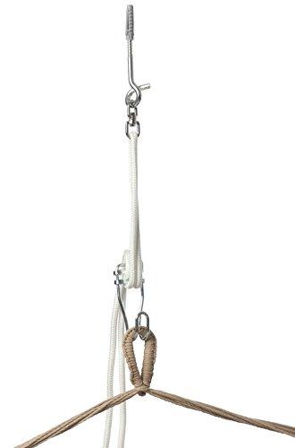 Jobek 95050 Kit de Fixation pour Chaise à Pendre Perfect Set Blanc 200 cm