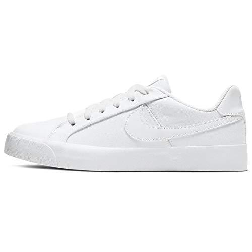Nike Wmns Court Royale AC CNV, Sneaker Mujer, Blanco, 38 EU