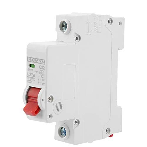 Interruptor de aire del disyuntor DZ47-63Z-1P 32A DC Tamaño pequeño y peso ligero