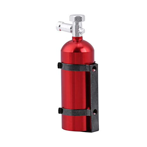 RC Car Fire Extinguisher, Simulation Metal Mini Fire Extinguisher Toy for CC01 / SCX10 / TRX-4 / D90 RC Crawler Car