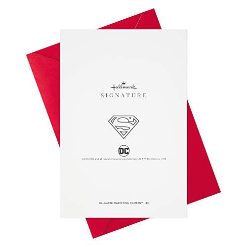Product Image 5: Hallmark Signature Birthday Card for Him (Superman Silhouette)