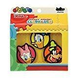 Crocs Jibbitz Disney 3-Pack Shoe Charm, Decorazione di scarpe Mickey Friends, Multicolore