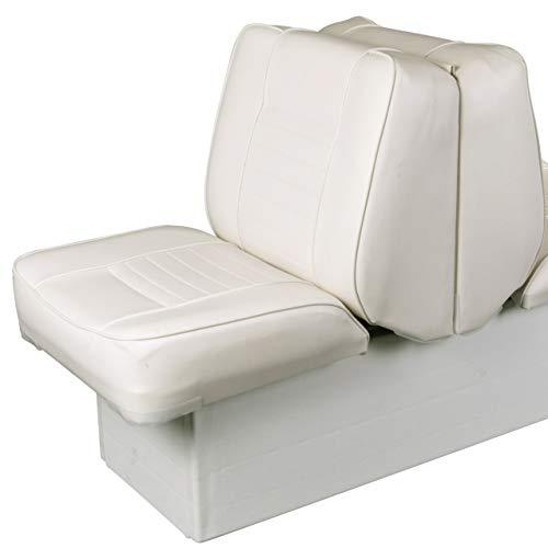 Ocean TEC 2 in 1 Back to Back Doppel Sitz und Liege mit Aufbewahrungsbox Weiß